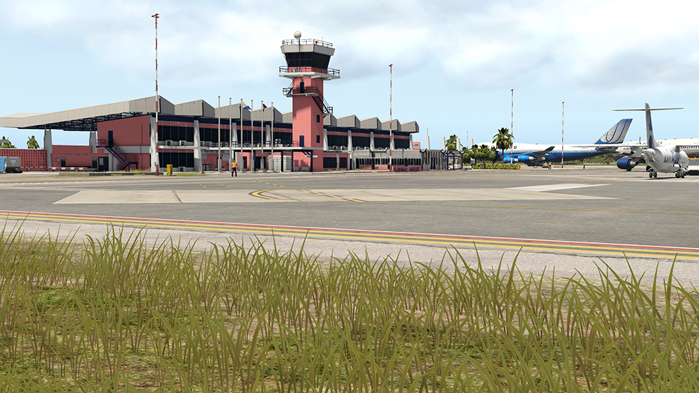 Airport Bonaire Flamingo XP