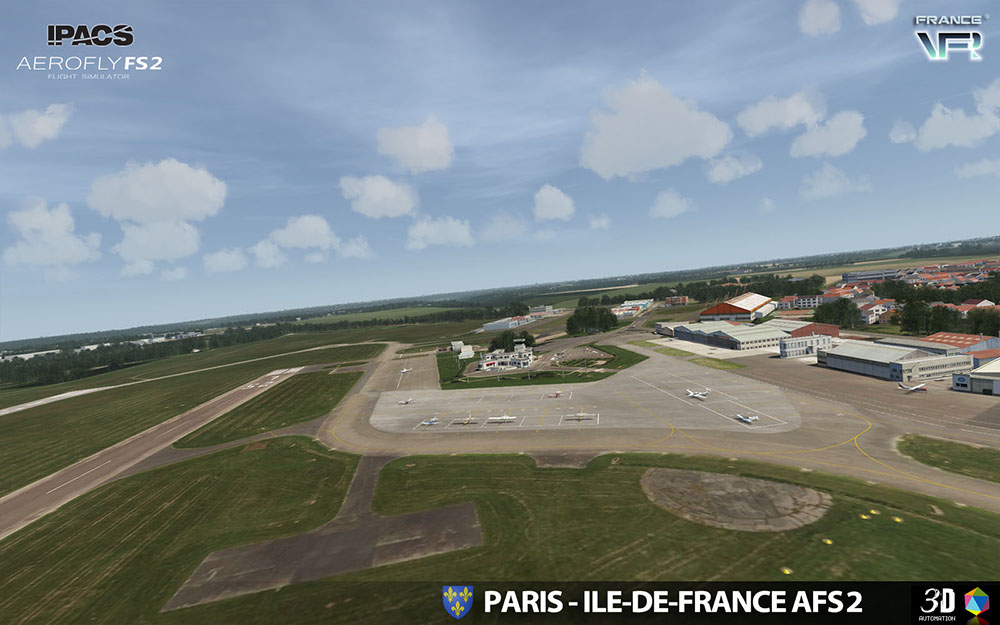 Paris-Ile de France VFR for Aerofly FS 2