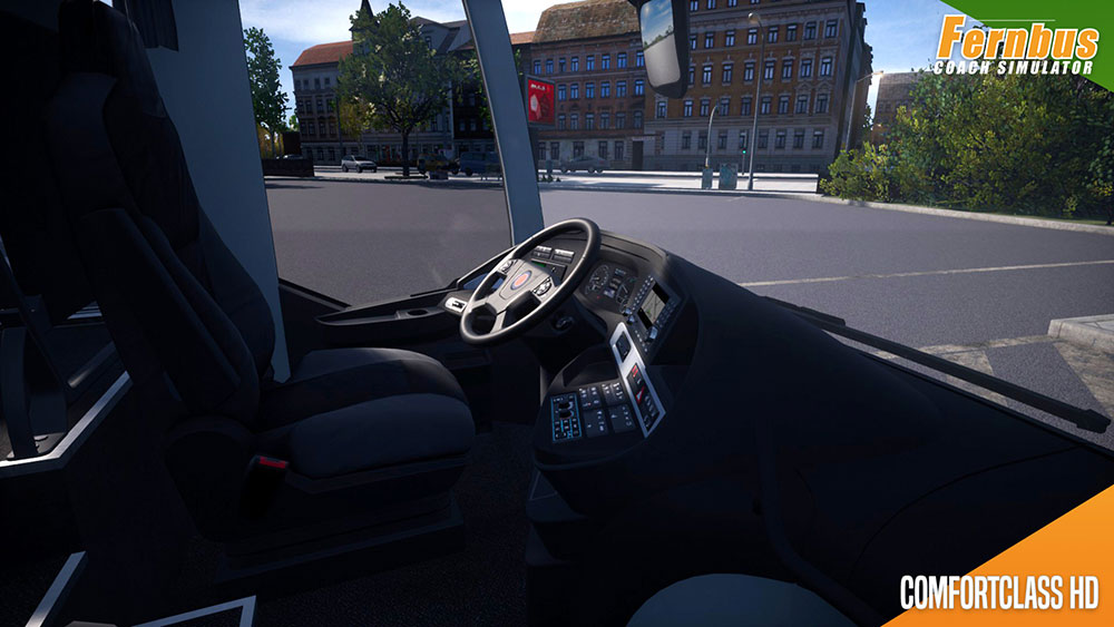 Fernbus Simulator Add-on - ComfortClass HD