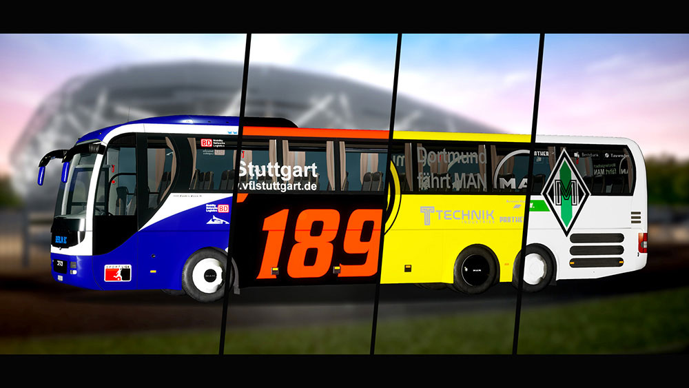 Fernbus Coach Simulator Add-on - Football Team Bus
