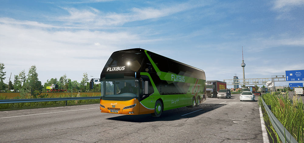Fernbus Simulator Add-on - Neoplan Skyliner