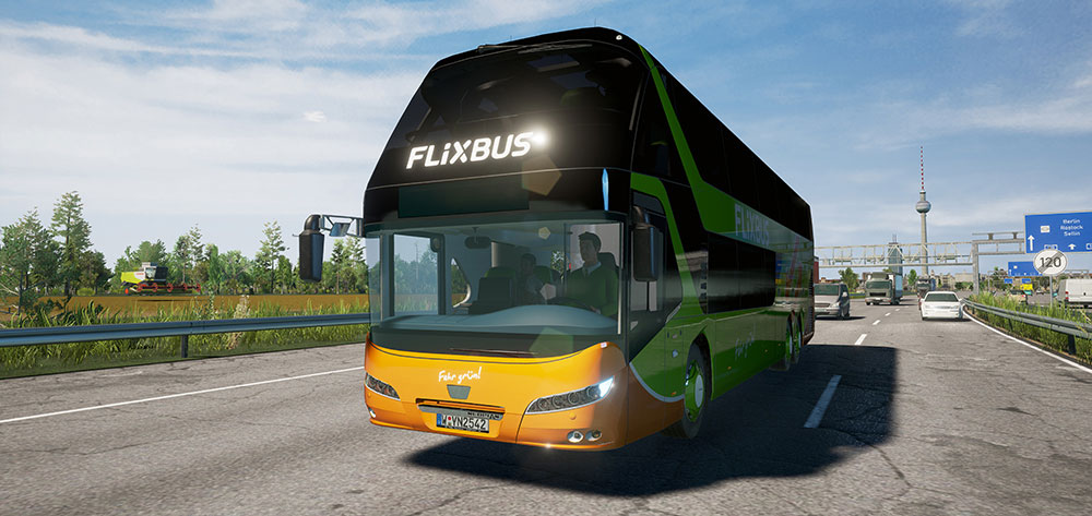 Fernbus Coach Simulator Add-on - Neoplan Skyliner