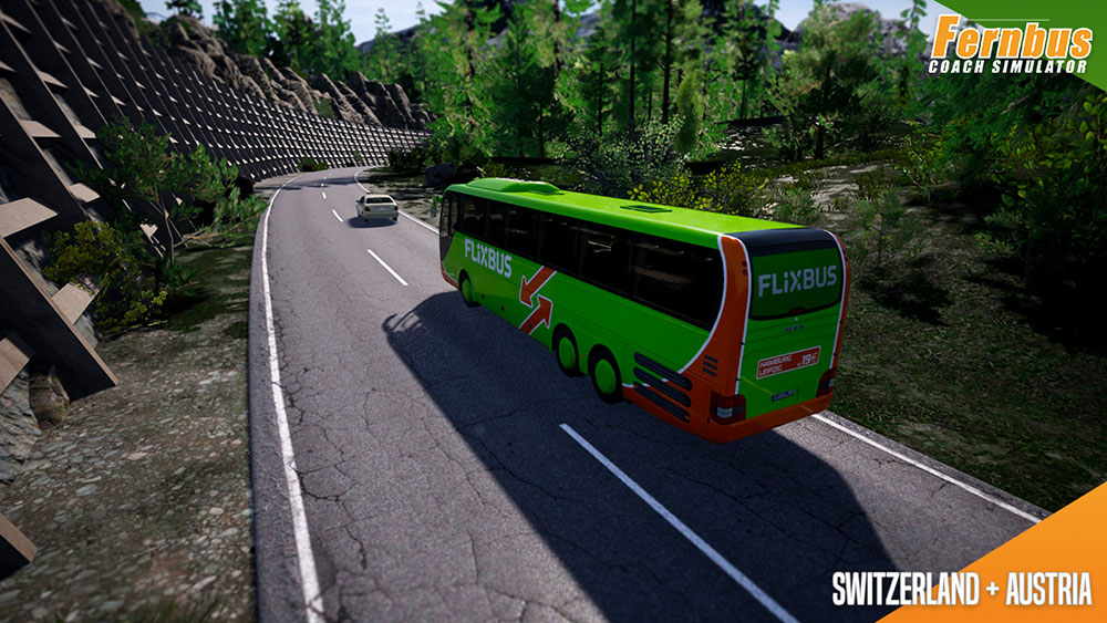 Fernbus Coach Simulator Add-on - Austria/Switzerland