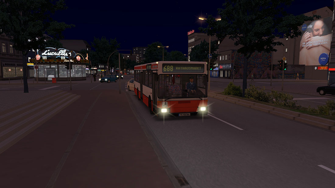 OMSI 2 Add-on Hamburg - Tag & Nacht