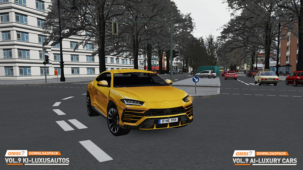 OMSI 2 Downloadpack Vol. 9 - KI-Luxusautos