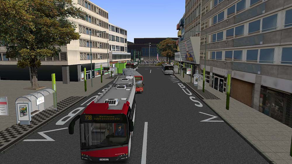 OMSI 2 Add-on Dusseldorf Line 721