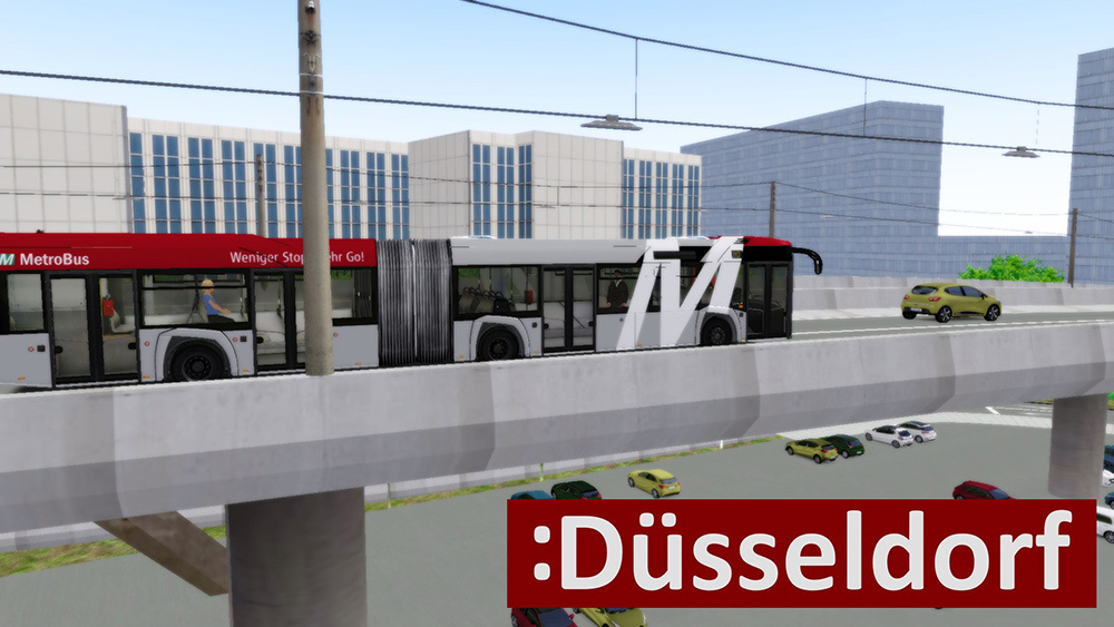 OMSI 2 Add-on Dusseldorf