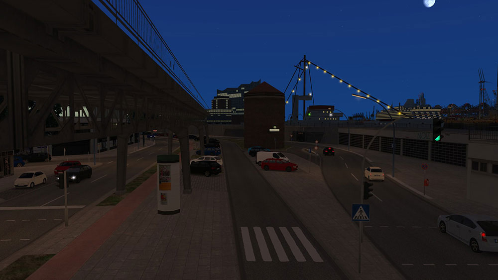 OMSI 2 Add-on HafenCity - Hamburg modern