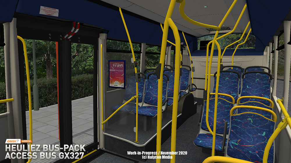 OMSI 2 Add-on Heuliez Bus-Pack - Access Bus GX327