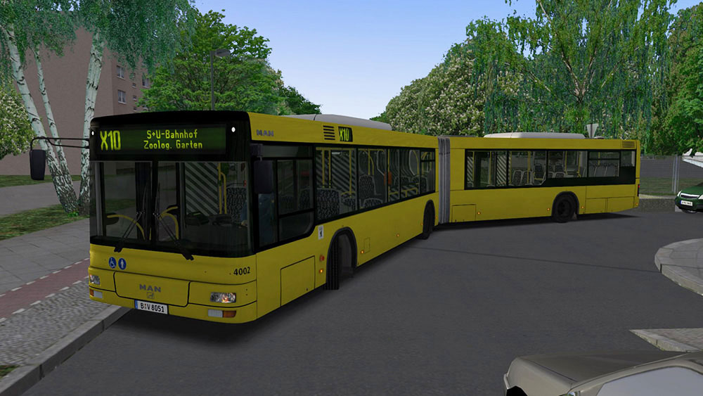 OMSI 2 Add-on MAN Stadtbusfamilie