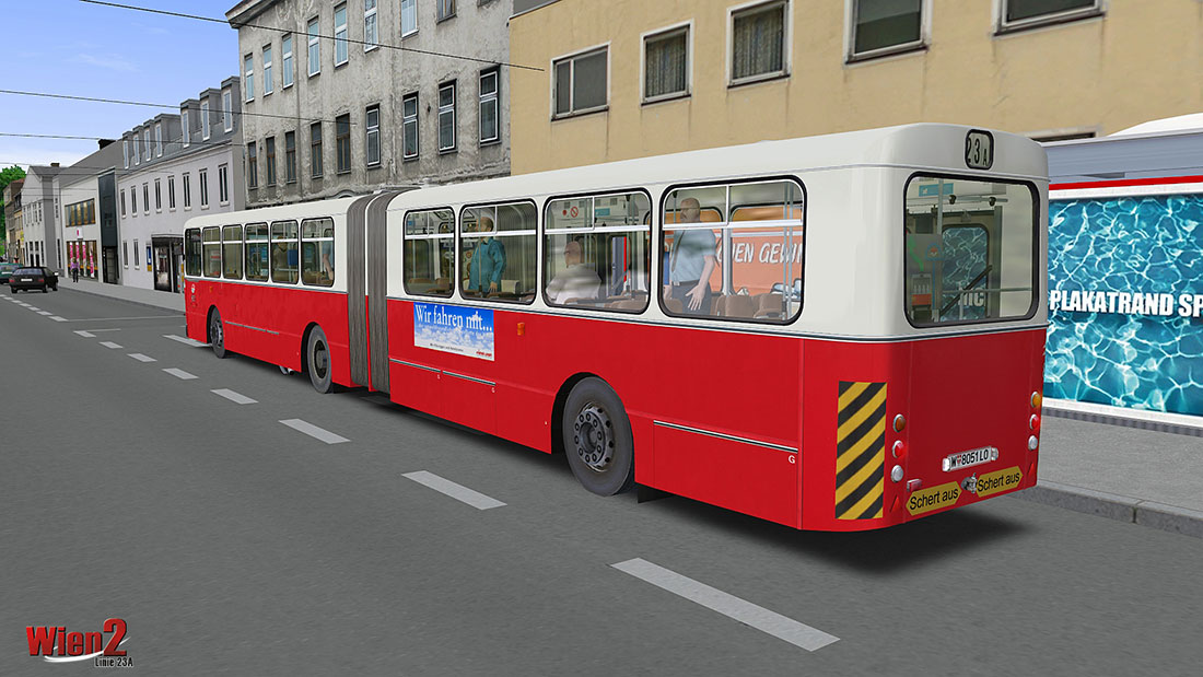 OMSI 2 Add-on Wien 2 - Linie 23A