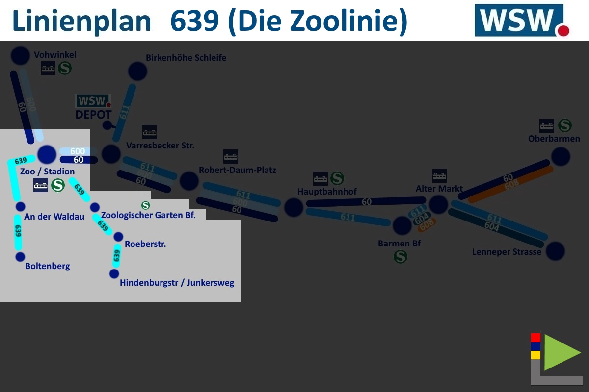 OMSI 2 Add-on Wuppertal Bus line 639