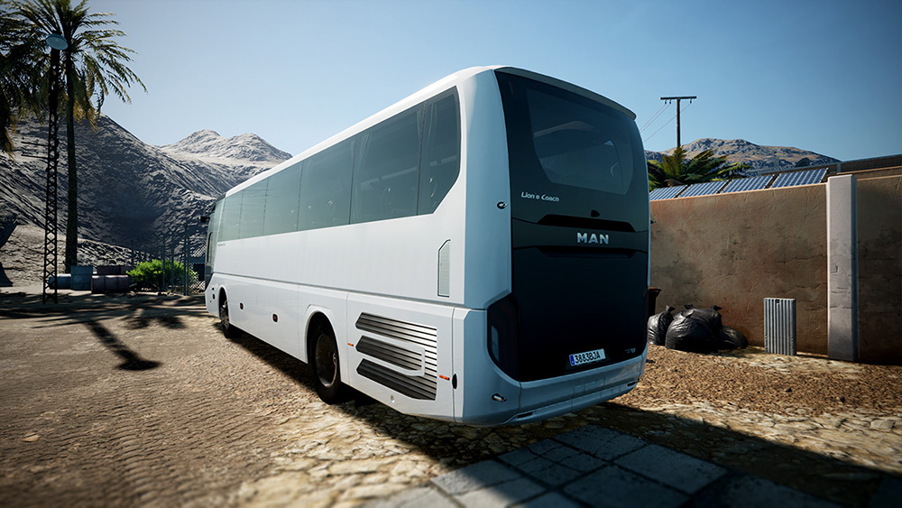 Tourist Bus Simulator Add-on MAN Lion's Coach 3rd Gen