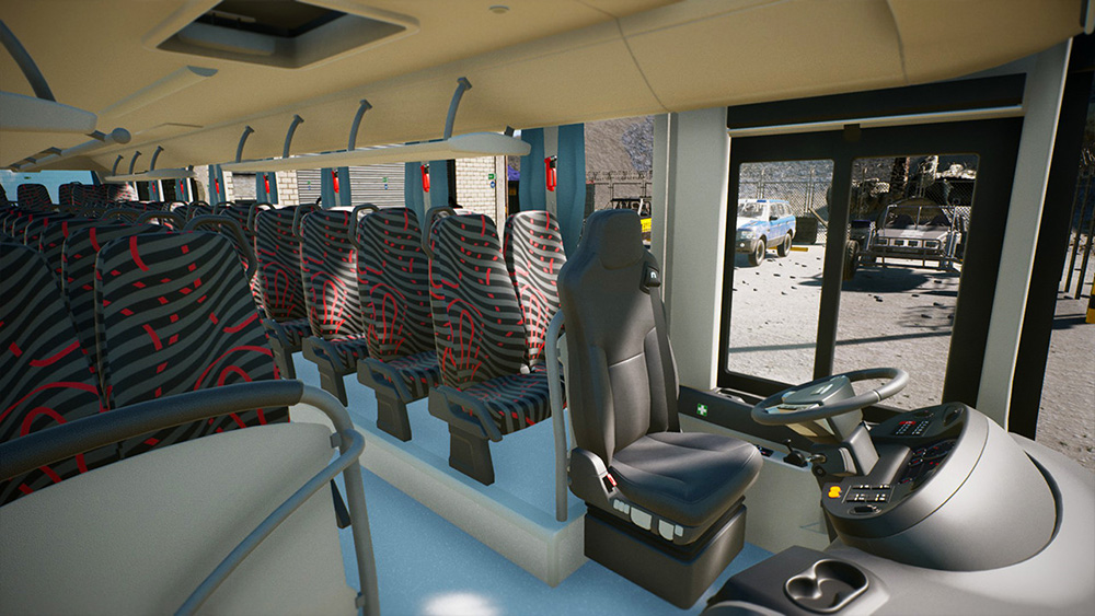 Tourist Bus Simulator Add-on - MAN Lion's Intercity