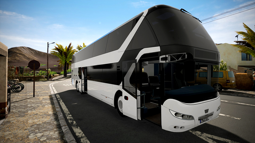 Tourist Bus Simulator Add-on - Neoplan Skyliner