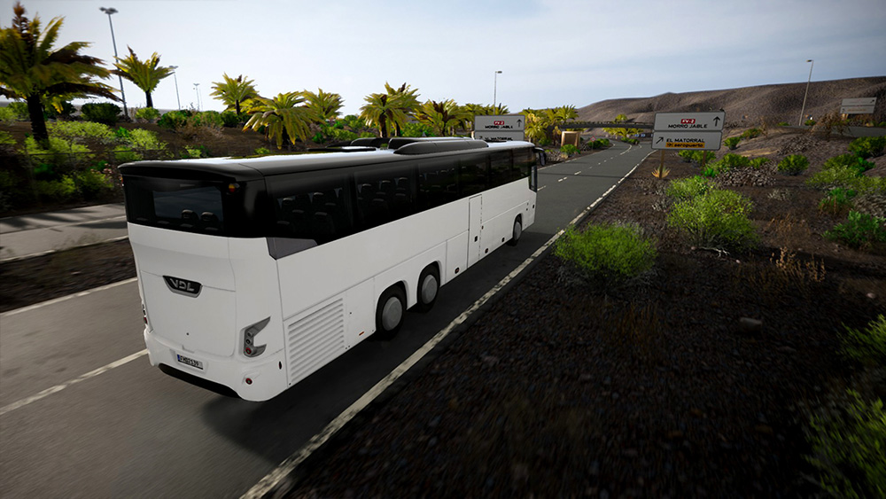 Tourist Bus Simulator Add-on - VDL Futura FHD2