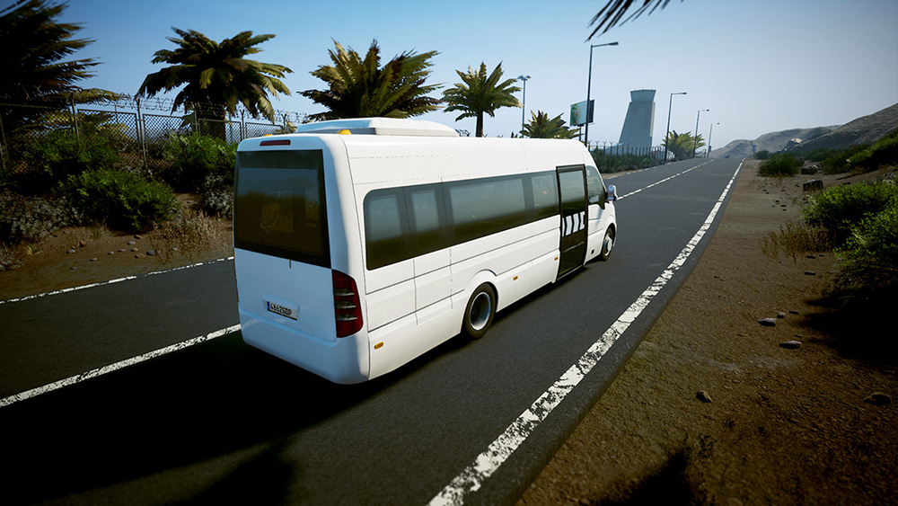 Tourist Bus Simulator Add-on W906