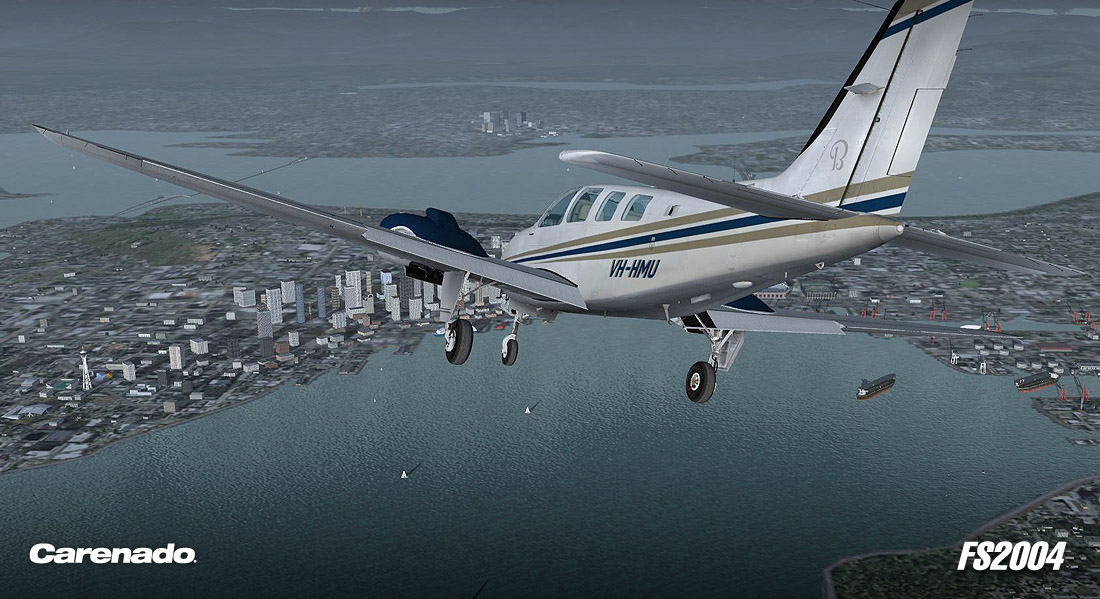 Carenado - B58 Baron (FS2004)