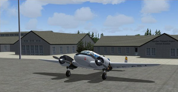 Beech 18 & Martha´s Vineyard