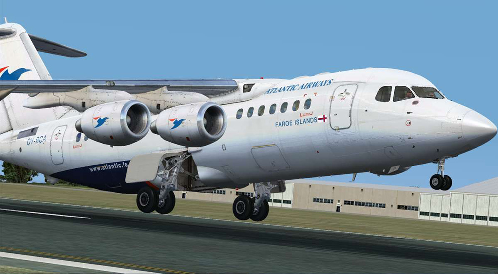 146-200 Jetliner - Livery & FMC Expansion Pack