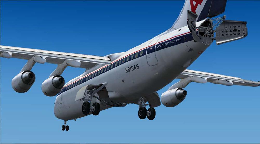 146-200 Jetliner - Livery & FMC Expansion Pack | Aerosoft Shop