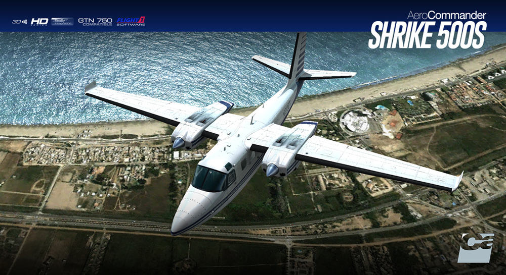 Carenado - 500S Shrike - HD Series (FSX/P3D)