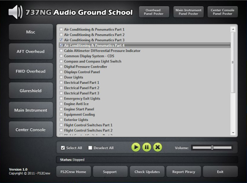 FS2Crew: 737NG Audio Ground School