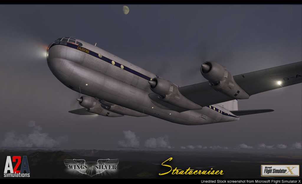 Captain of the Ship B377 Stratocruiser