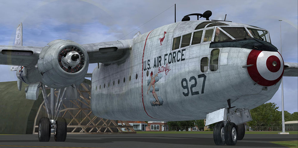 Aeroplane Heaven - Fairchild C-119 'The Flying Boxcar'
