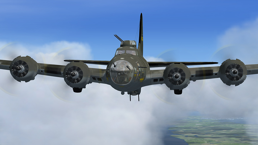 Aeroplane Heaven - B-17-Flying Fortress
