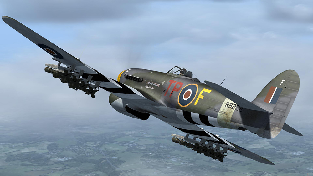 Aeroplane Heaven - Hawker Typhoon
