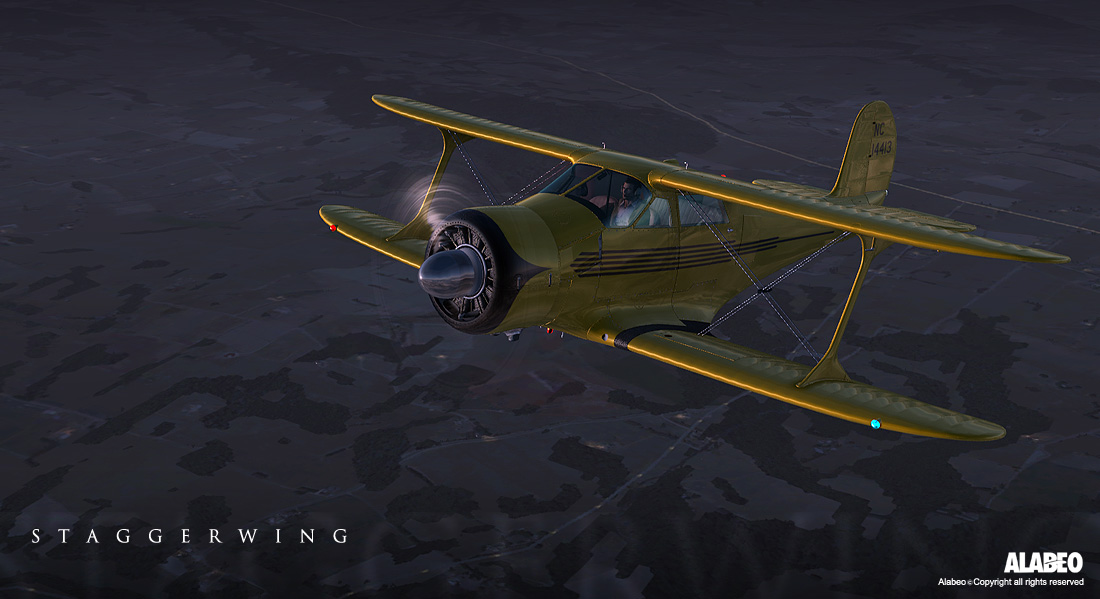 Alabeo - D17 Staggerwing