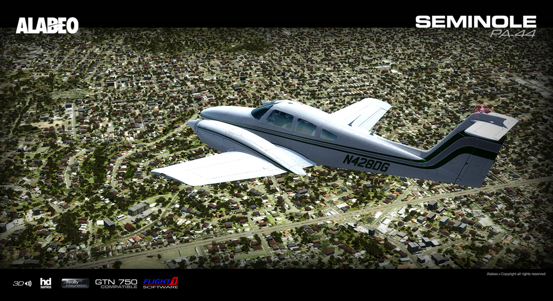 Alabeo - PA44 Seminole | Aerosoft Shop