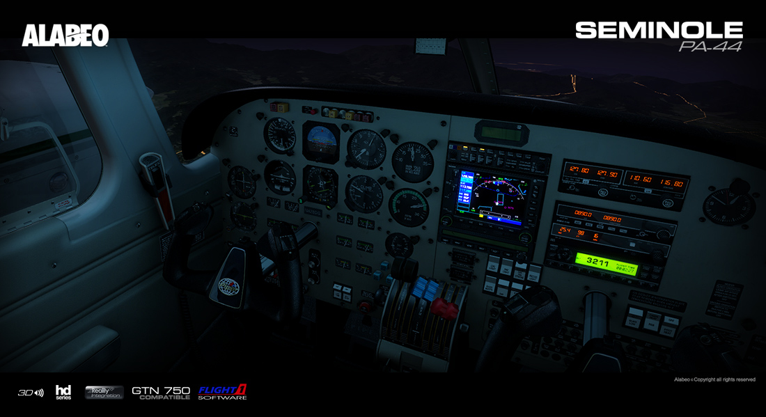 Alabeo - PA44 Seminole | Aerosoft US Shop