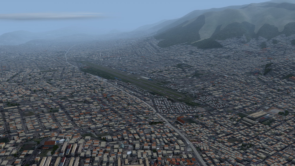 Approaching Quito