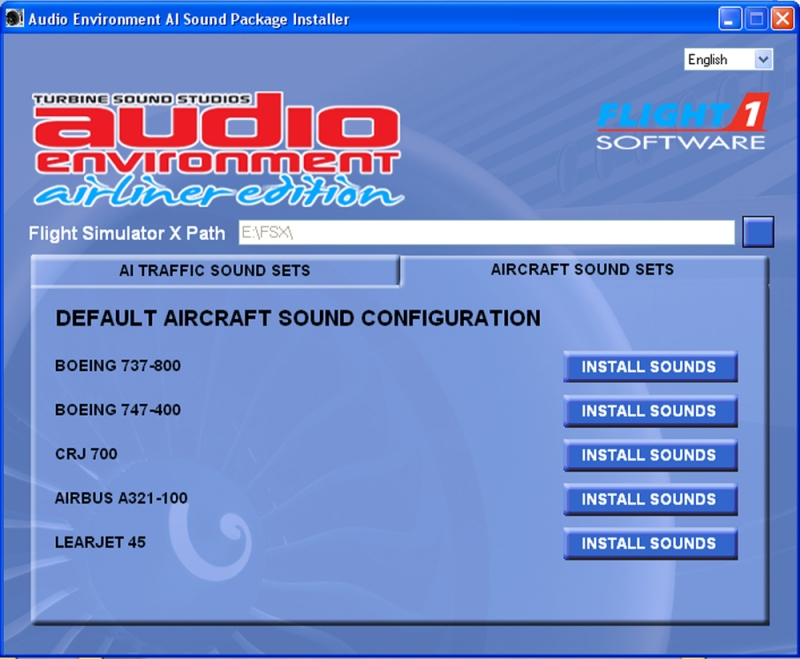 Audio Environment - Airliner Edition
