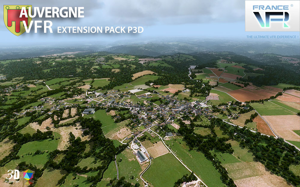 Auvergne VFR - Extension Pack P3D V4