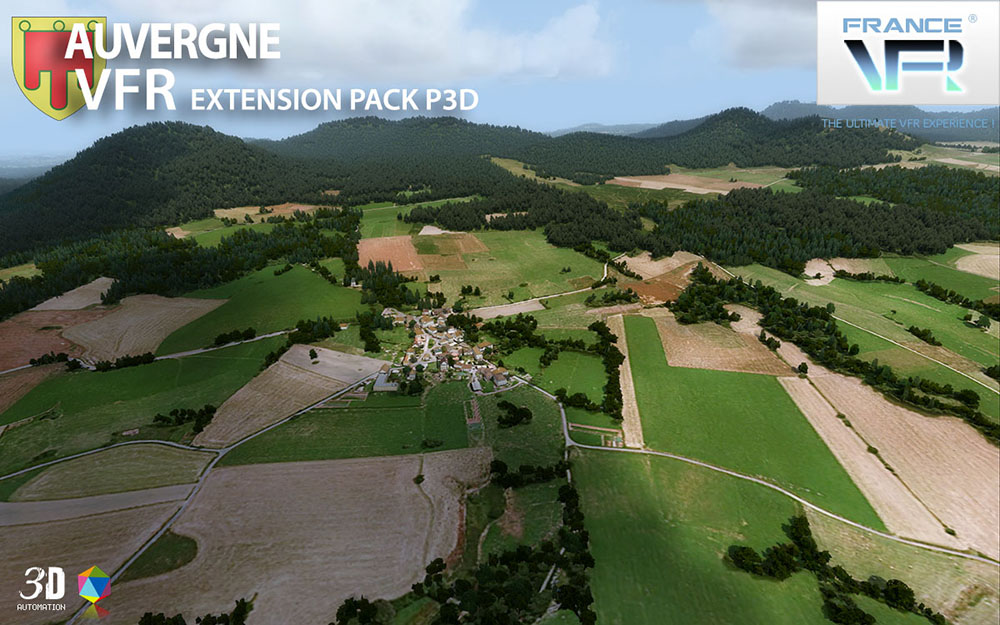 Auvergne VFR - Extension Pack P3D V4/V5
