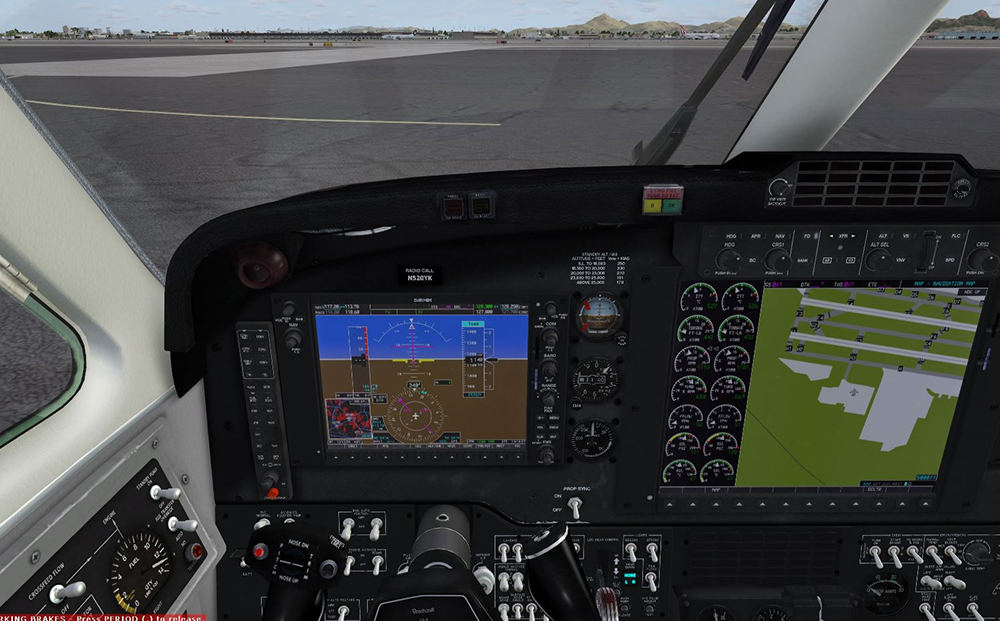 Beechcraft Super King Air B200 for FSX