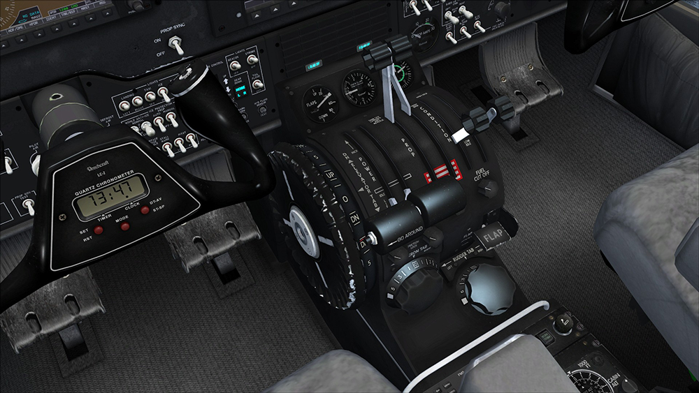 Beechcraft Super King Air B200 for P3D