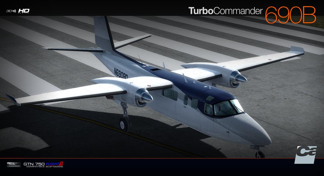 Carenado - 690B Turbo Commander (FSX/P3D) | Aerosoft Shop