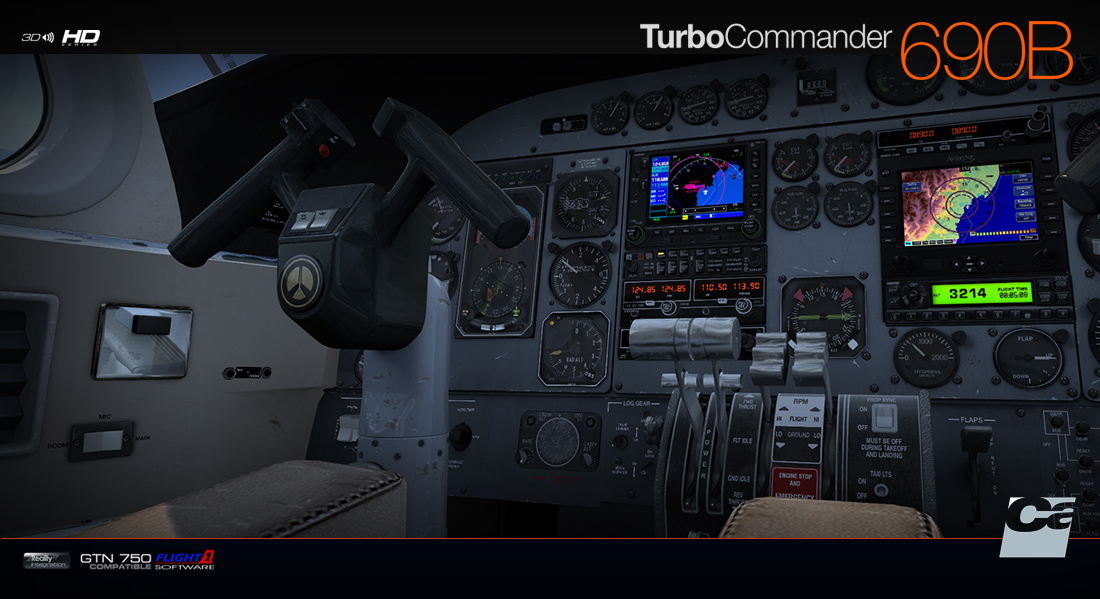 Carenado - 690B Turbo Commander (FSX/P3D) | SimWare Shop