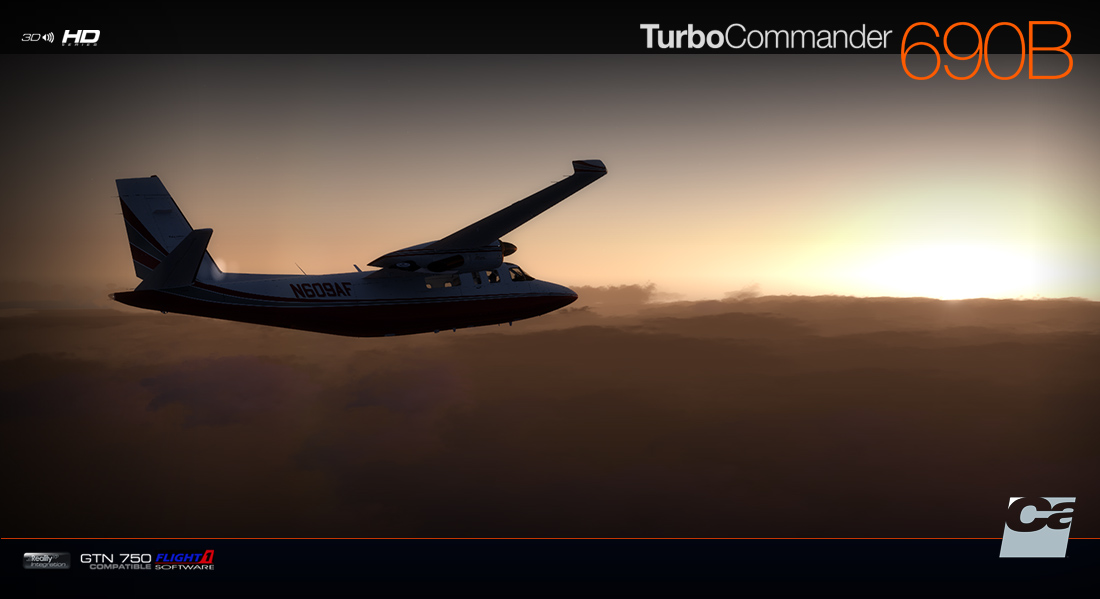 Carenado - 690B Turbo Commander (FSX/P3D)