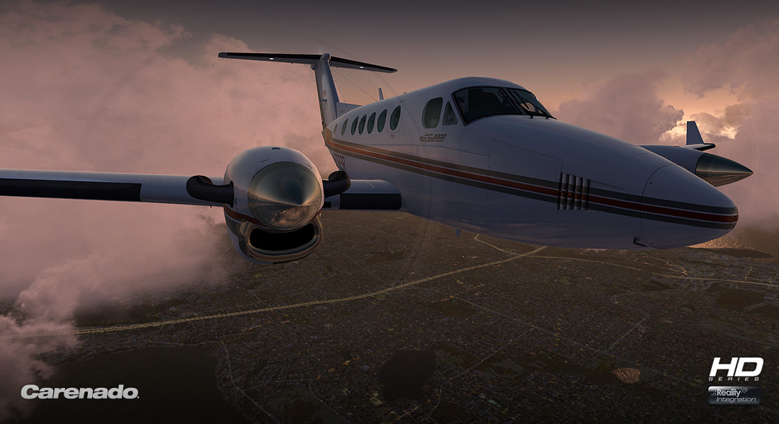 Carenado - B200 King Air - HD Series (FSX/P3D)