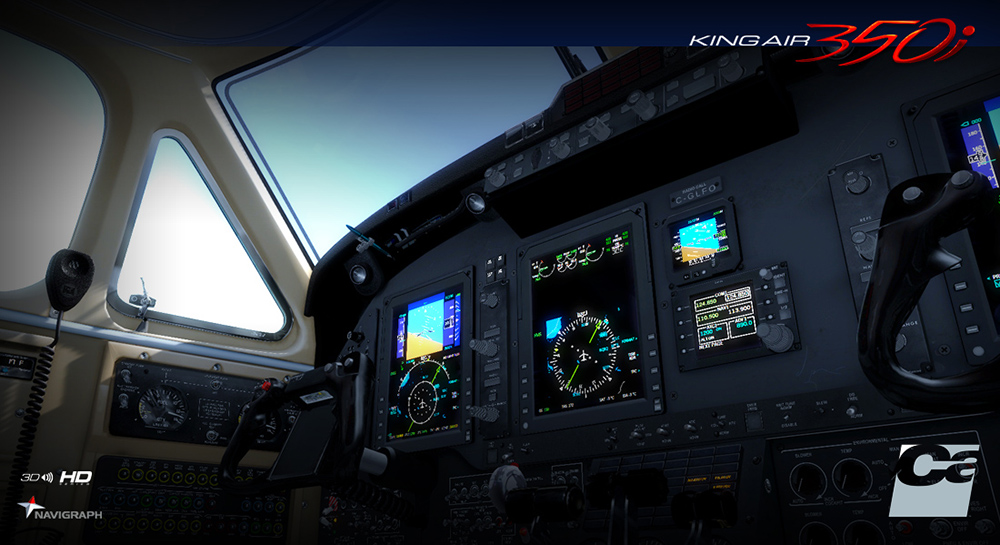 Carenado - B350i King Air - HD Series