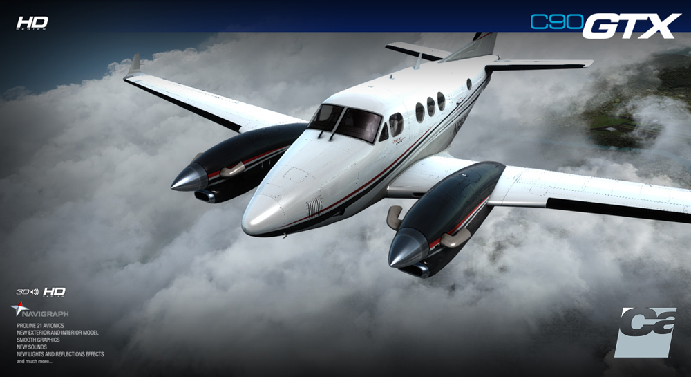 Carenado - C90 GTX King Air - HD Series