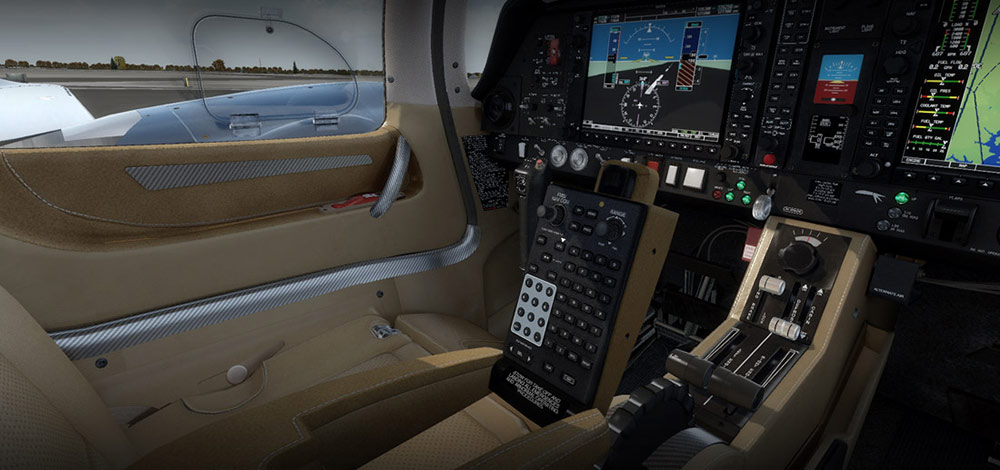 Carenado - DA62 G1000 (FSX/P3D) | SimWare Shop