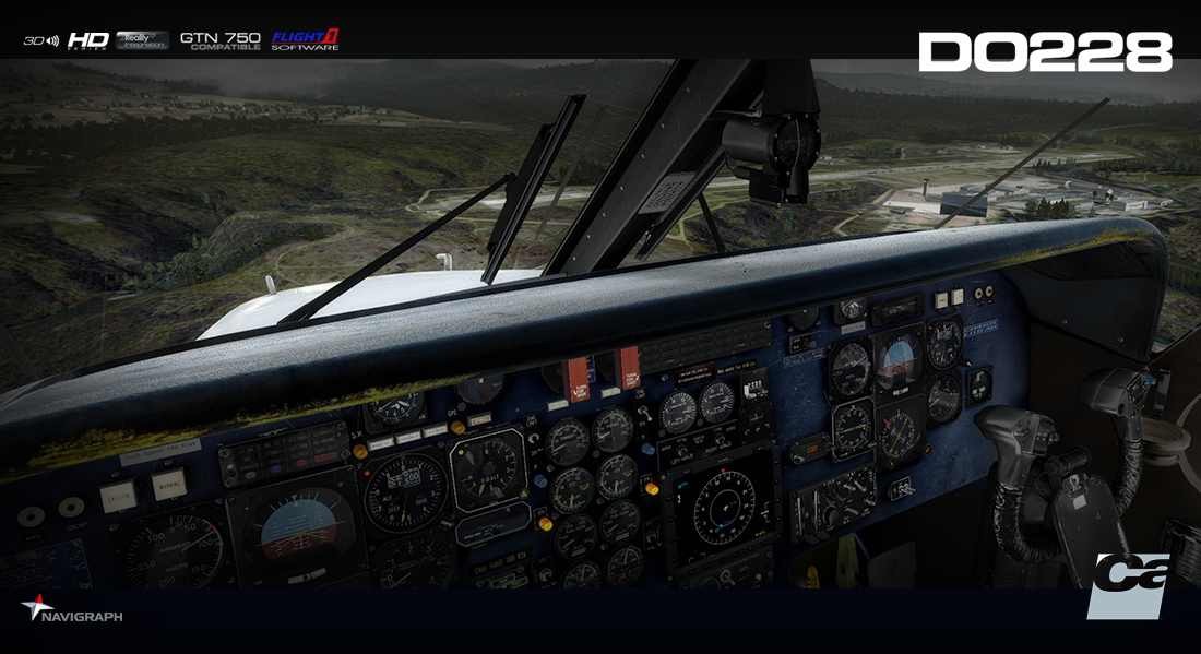 Carenado - DO228 100 - HD Series (FSX/P3D) | Aerosoft Shop