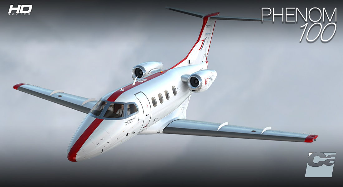 Carenado - E50P Phenom 100 - HD Series (FSX/P3D)