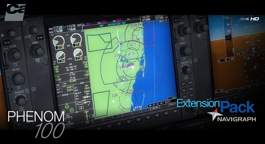 Carenado - Navigraph Extension Pack - Phenom 100 (FSX/P3D)